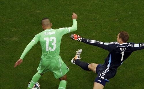 世界杯-德国半场暂平阿尔及利亚 .