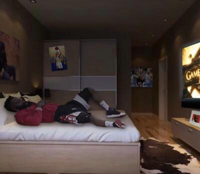 哈登防守被网友黑出翔 宛如躺床上看大片