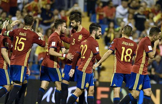 世预赛-伊斯科传射建功 西班牙3.