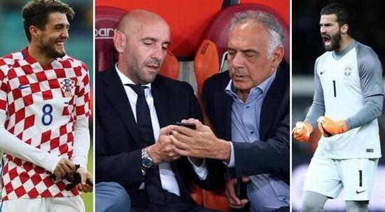 根据《罗马体育报》报道,罗马已为阿里森标价6000万欧元,同时他们对