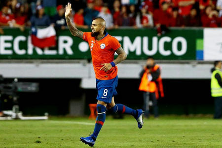 智利公布国家队大名单:比达尔领衔无桑神