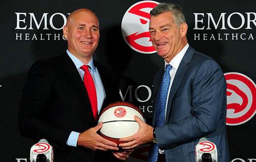 兼任篮球运营总裁 老鹰正式续约总经理施伦克